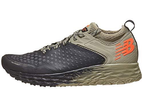 New Balance Men's Hierro V4 Fresh Foam Trail Running Shoe Black/Trench/Alpha Orange 11.5 D US (New Balance Mens Fresh Foam Hierro Athletic Shoes)