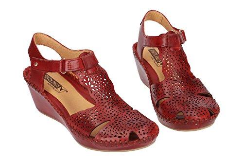 Margarita de mujer Pikolinos cuero Sandalias Rojo 943 para 0985 BqAxEw6xS