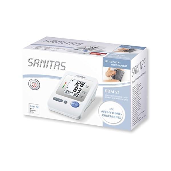 Sanitas - SBM 21 Tensiómetro de brazo 10
