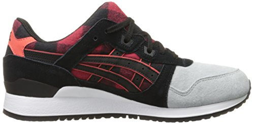 Asics Gel-Lyte III Zapatillas de Moda Del Red-Black