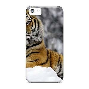 Premium Tpu Tiger Cover Skin For Iphone 5c