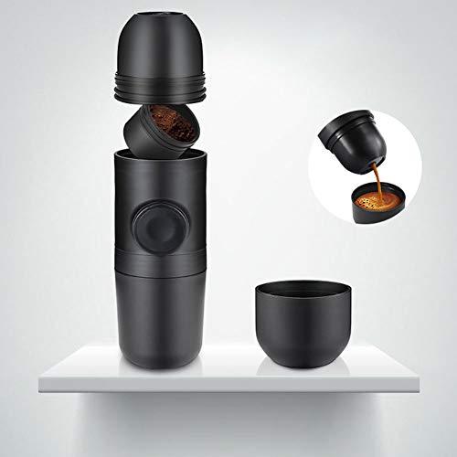 DishyKooker Portable Mini Coffee Maker Hand Pressed Espresso Machine by DishyKooker (Image #3)