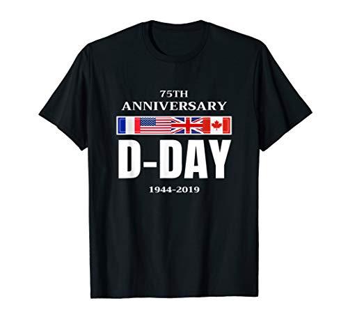 D-Day Normandy Landing 75th Anniversary Men Women Gift Shirt T-Shirt