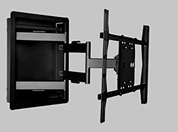 Amazoncom Flush In Wall Recessed Articulating Mount for LED TV