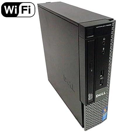 Dell Optiplex 9020 Small Form Business Desktop Tower PC (Intel Quad Core i7 4770, 16GB Ram, 240GB Brand New SSD, WIFI, Dual Monitor Support HDMI + VGA, DVD-RW, WIFI) Win 10 Pro (Renewed) 1