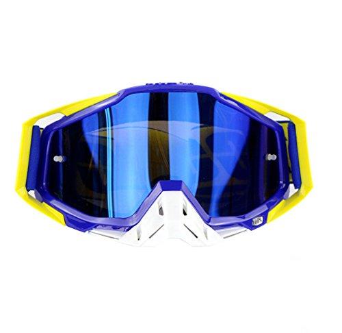 traviesa Prueba PC de Polvo e C esquí Campo de a Impermeable Material Gafas explosiones a Prueba REwq4Fx