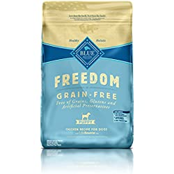 BLUE Freedom Puppy Grain-Free Chicken Dry Dog Food 24-lb