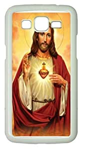 Samsung Grand 7106 Case, Samsung Grand 7106 Cases -Sacred Heart Jesus PC Hard Plastic Case for Samsung Grand 2/7106 Whtie