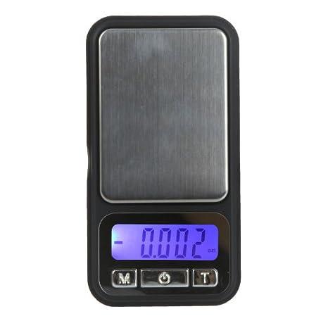 Kingzer 100 g/0.01 g Balance numérique de poche pour bijoux avec diamant E: Amazon.es: Electrónica