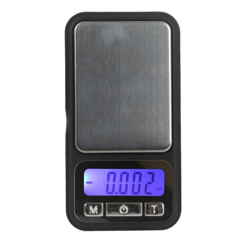 Kingzer 100g 0.01g Digital Pocket Scale Phone Style Electronic Jewelry Diamond Weight by KINGZER