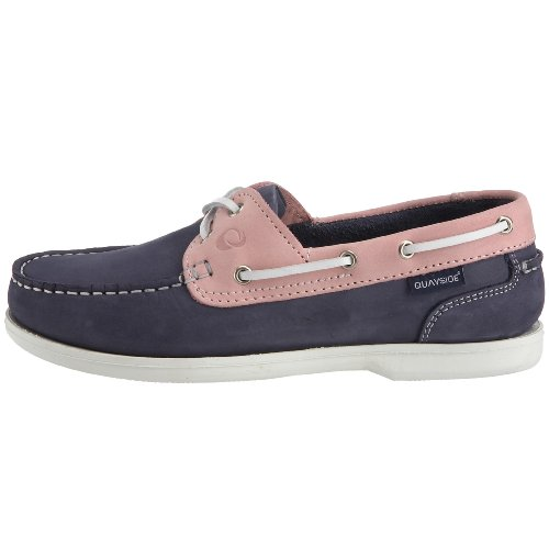 Quayside Womens rose Boat yachting Shoes Bermuda Blue zz8q5rBw