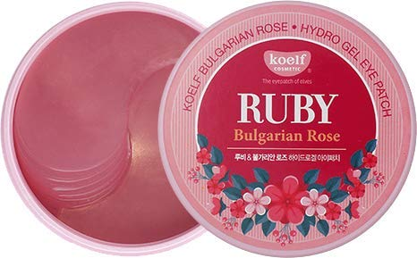 [Koelf] Ruby Bulgarian Rose Hydro Gel Eye Patch 60pcs/30pairs