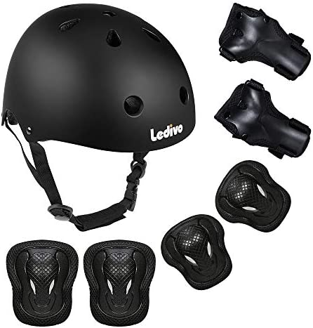 Ledivo Adjustable Protective Skateboard Rollerblading product image