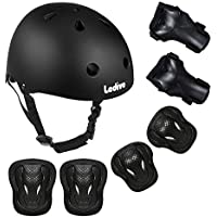 Ledivo Kids Adjustable Helmet Suitable for Ages 3-8 Years