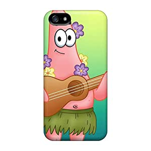 Scratch Resistant Hard Cell-phone Case For Apple Iphone 5/5s (UAQ1802mgJh) Support Personal Customs Stylish Patrick Music Series