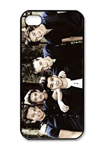 Cool One Direction Custom Case for iPhone 4 4s Hard Cover Fits Case For iPhone 4s Case A129