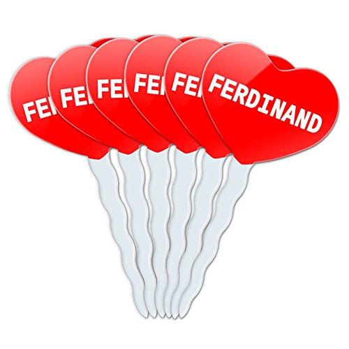 Ferdinand Cupcake Picks
