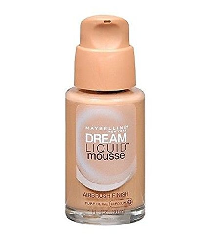 Maybelline Dream Liquid Mousse Foundation- PURE BEIGE (MEDIUM 2) / PURE BEIGE 70