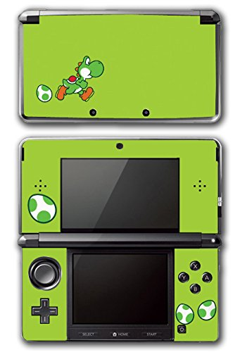 Yoshi Special Egg Green Edition Super Mario Bros New Island DS Woolly World Video Game Vinyl Decal Skin Sticker Cover for Original Nintendo 3DS System (Ds Island Yoshis Nintendo)