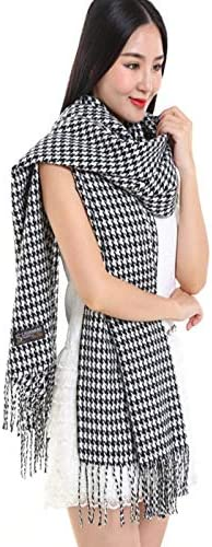 AODEK Autumn And Winter Models Warm Thick Tassel Scarf Shawl Cashmere Wool Scarf Female