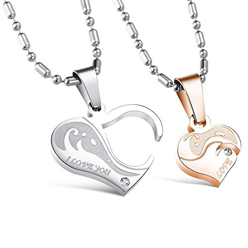 Morenitor Necklace Stainless Pendant Matching
