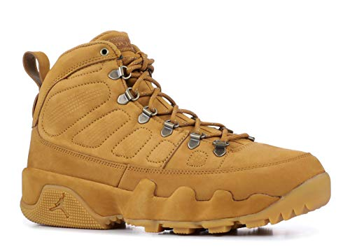 Nike Men's Air Jordan 9 Retro Boot NRG Wheat/Brown AR4491-700 (Size: - Jordan Air Nike Boots