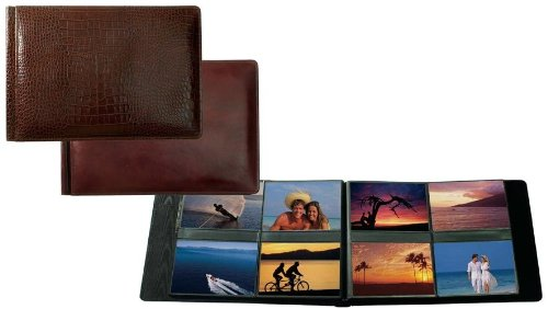 Raika RM 178 BROWN 4in. x 6in. Album with 8 Photos - Page - Brown by Raika®