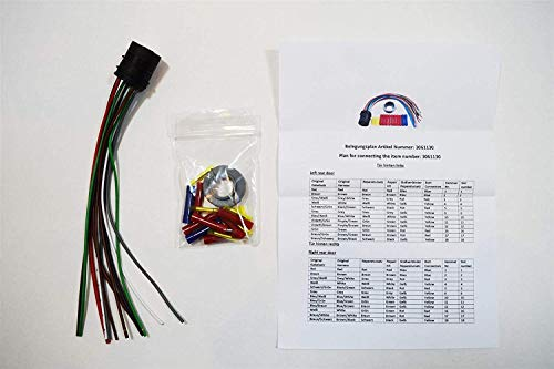 LSC 3061130 : Rear Door Wiring Harness Repair Kit - NEW from LSC: