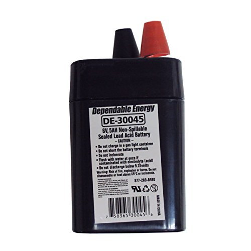 AMERICAN HUNTER GSM DE-30045 6V Rechargeable Lantern Battery