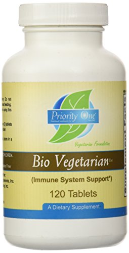 Priority One Vitamins Bio Vegetarian Tablets
