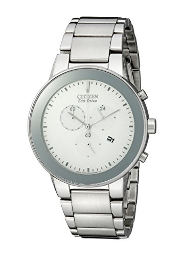 - Citizen Men's AT2240-51A Eco-Drive Axiom Chronograph Watch