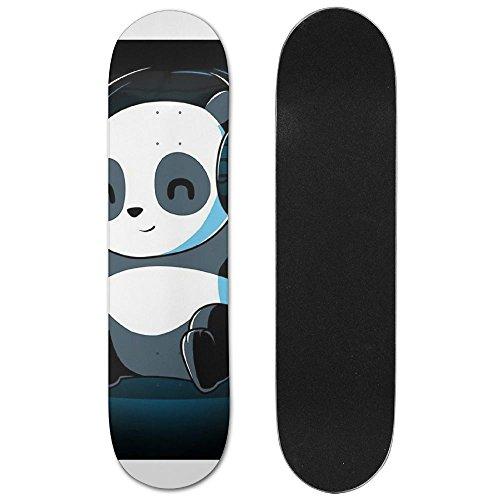 Panda Playlist Vogue Double Warped Skateboard Deluxe Longboard Skate - Vogue List
