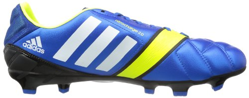 adidas nitrocharge 3.0 TRX FG, Chaussures de football homme - Bleu (Blue Beauty F10 / Running White Ftw / Electricity), 40 2/3 EU