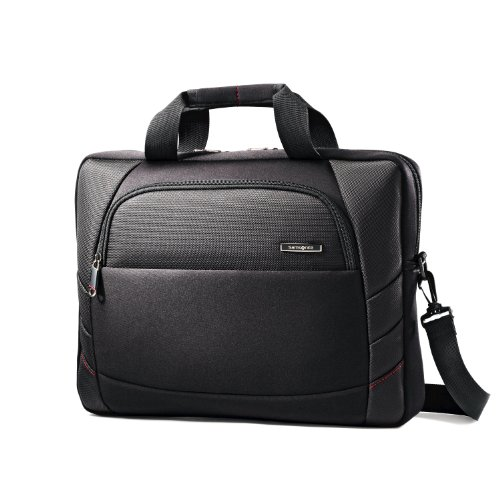 Samsonite Xenon 2 15.6-Inch Slim Briefcase Black, Bags Central