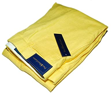 new items attractive & durable where to buy Polo Ralph Lauren Mens Yellow Linen Dress Pants 36/30 at ...