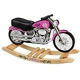 KidKraft Harley Davidson Pink Softail Rocker