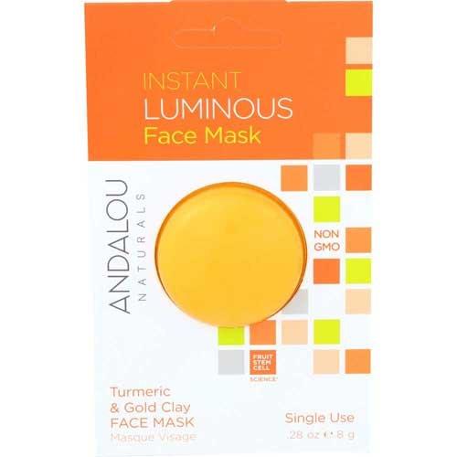 Honey Naturals Andalou Pumpkin (Andalou Naturals Instant Luminous Clay Mask, 0.28 Ounce - 6 per case.)