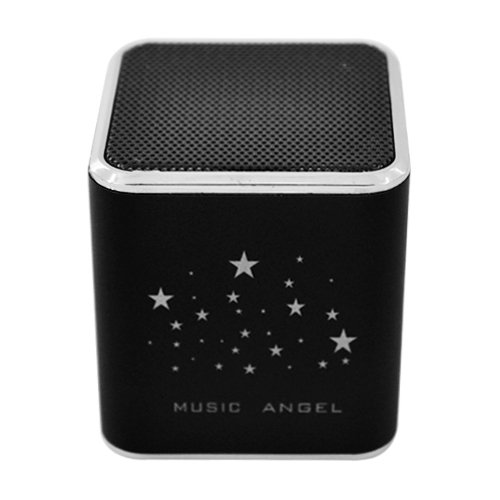 Music Angel Cube Speaker Black 01