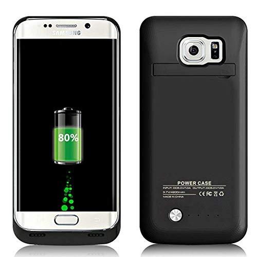 Funda Bateria para Galaxy S6 Edge, 4200mAh Carcasa Bateria Externa ...