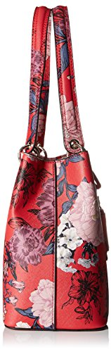Varios Colores Red GUESS Mujer Floral WR669136 Bolso Shopper TwPPxZIXqO