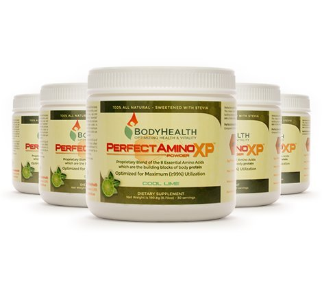 Perfectamino xp 190 8 grams servings for Perfect blend pro scale