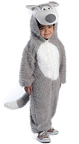 Princess Paradise Child's Big Bad Wolf Deluxe Costume, As Shown, X-Small -