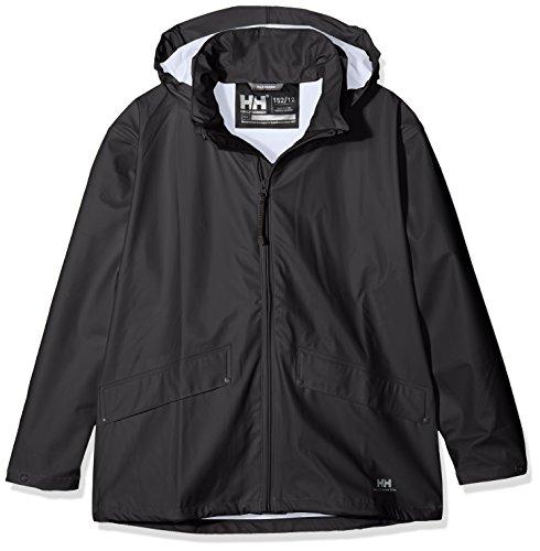 Helly Hansen Boy's Voss Jacket, Black, 10 by Helly Hansen