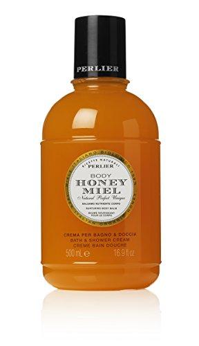 Perlier Bath Cream, Honey, 16.9 Fluid Ounce