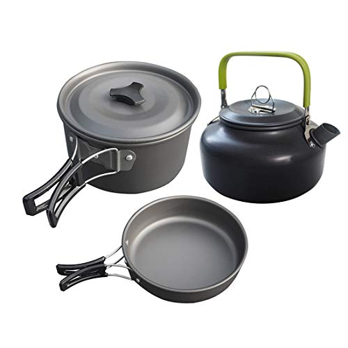 (Vfdsvbdv Kochel Folding Outdoor Cooking appliances Set Compact Storage Pot with Aluminum Cooker Cooking Set BBQ Tableware Cherry Blossom Dish for Camping Mini Camp Cooker Climbing Summer Festival for)