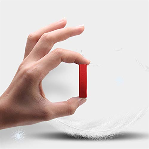 AJIUHE 丨丨Bluetooth Receiver Adapter, Portable Hands-Free Bluetooth 4.1 Audio Receive&Mini 3.5mm AUX Wireless Audio Adapter for Speakers Headphones Car/Home Stereo Music Streaming Sound System(Red)