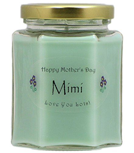Just Makes Scents Mimi Mothers Day Candle - Cucumber Melon Scented Candle - Hand Poured in The USA