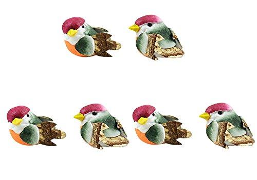 Bulk Buy: Midwest Design Mushroom Birds 1