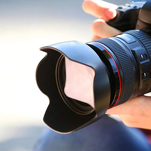 Pusokei-Parasol-para-Objetivo-de-camara-para-Nikon-AF-S-DX-55-200mm-F4-56G-ED-Lente-85mm-F35G-Parasol-HB-34-Parabrisas-Adecuado-para-fotografos