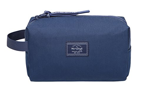 MIETTE Small Cosmetic Bag Cute Makeup Bag, Navy